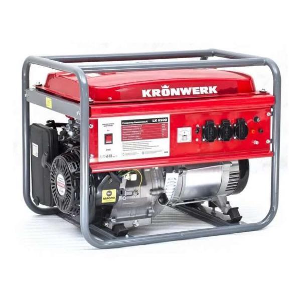 Генератор Kronwerk LK 6500 - Профессиональное оборудование в аренду - Аренда оборудования для ремонта и отдыха в Екатеринбурге